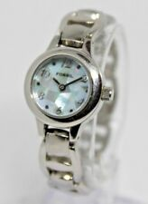 Women's Fossil F2 Watch - ES1420, MOP Dial, Stainless Steel, Fresh Battery
