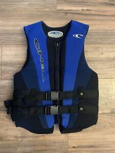 O'Neill Wetsuits Men's Superlite USCG Life Vest Size Large Blue/Black