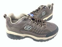 NEW! Skechers Men's ENERGY DOWNFORCE Lace Up Shoes WIDE Brown #50172EW 186T tz