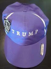 NEW Trump Golf Donald Trump Golf Hat Basbeall Cap Purple Kate Lord Ladies   Fit 5263ec01e7b5
