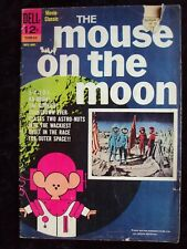 """MOVIE CLASSICS """"THE MOUSE ON THE MOON"""" 1963 DELL COMEDY MOVIE COMIC"""