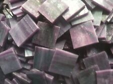 Stained Glass Mosaic Tiles - 25 ct - 3/4 inch Purple Opalescent - Dti