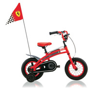 Ferrari CX 10 Kids Bike Sports Style RACE bandiera catena protezione bicicletta