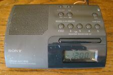 Sony Icf-C203 Dream Machine Am/Fm Radio Clock Great Working Condition