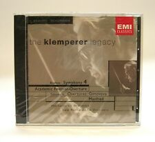 Klemperer Legacy: CD Brahms Symphony 4, Schumann Overtures* New Sealed* EMI 1999