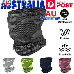 Cooling Face Neck Gaiter Scarf Tube Bandana Balaclava Shield Cover Snood Scarves