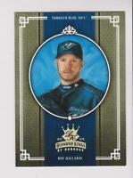 2005 Donruss Diamond Kings Gold #239 Roy Halladay card, Toronto Blue Jays #/25