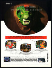 Philips CD-i__Mutant Rampage: Body Slam__Original 1994 print AD / game promo