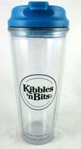Kibbles N Bits Water Drink Bottle Double Wall Twist Lid 2014 BPA Free 23 Oz
