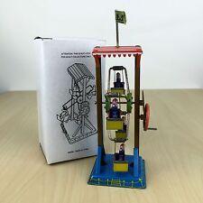 Metal King Tin Toy Ferris Wheel Hand Crank Reproduction Vintage Collectors Piece