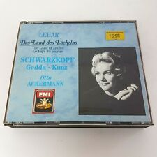 Lehar The Land of Smiles | 2 CD Box (1988) Schwarzkopf Gedda Kunz EMI Ackermann