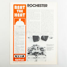 1973 Beat The Heat VHT Spray Paint Vintage Print Ad Art Original
