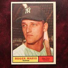 1961 Topps Set ROGER MARIS #2 NEW YORK YANKEES - XM**