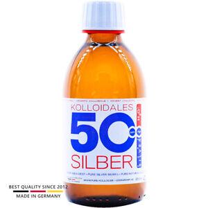 PureSilverH2O® Kolloidales Silber 250ml 25PPM tgl. Produktion ● Made in Germany