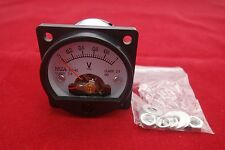 DC 0-1V Analog Voltmeter Analogue Voltage panel meter SO45 directly Connect