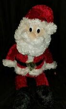 "Animated Santa Sings Holly Jolly Christmas & Dances Kids of America 12"""