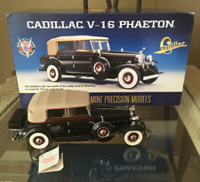 New ListingFranklin Mint Elliott Ness Cadillac V-16 Phaeton With Box 1/24th Scale