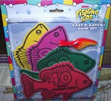 Rapala Kids Cast N' Catch Fishing Game Set - Beginners Master The Art Of Casting