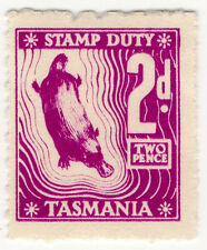 (I.B) Australia - Tasmania Revenue : Stamp Duty 2d