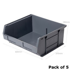 XL6 Grey Picking Bin Size 6 (5 Pack) Recycled Plastic