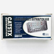 Audio/Video Cat5 Transmitter Distribution Hub Cat-Tx