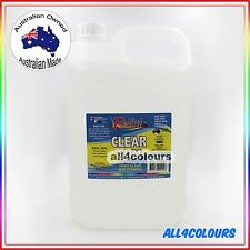 5L OZ Made NON TOXIC CLEAR GUM Water Based adhesive for SLIME Non Staining