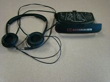 VINTAGE SENNHEISER PX200 WIRED STEREO HEADPHONES WITH CASE - WORK