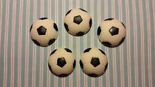 Comestibles cake/cupcake Decoraciones - 12 balones de fútbol-fondant, sugarpaste Toppers