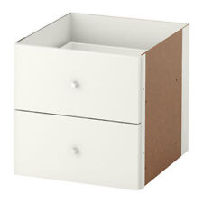 KALLAX Insert with 2 Drawers, White Color, 702.866.45 - NIB and FREE SHIPPING