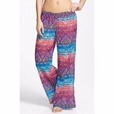 Jessica Simpson Swim Cover Up Sz M Multi Pant Swimcover SSTM14C13