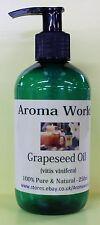 Grapeseed Carrier Oil 250ml - Pump Dispenser