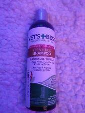 New listing Vet's Best Flea and Tick Advanced Strength Dog/Puppy Shampoo 12 Wks Or Older
