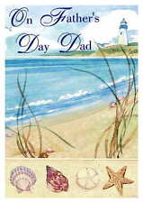 Fathers Day / Birthday Personalised Hand Made Printed Card