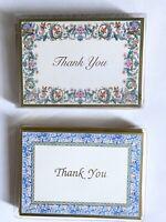 Vintage CASPARI Lot of 2 ~Thank You~ (7)  Notes/ Envelopes In Each Design Rare