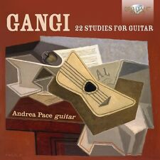 ANDREA PACE - 22 STUDIES FOR GUITAR   CD NEU GANGI,MARIO