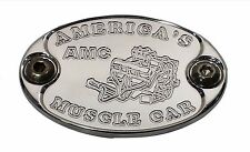 E6014-AS25N Aluminum Metal Car Badge, Engine, Fender  AMC AMX 360 390 401 - USA