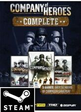 COMPANY OF HEROES COMPLETE PACK*STEAM*KEY*PC*DOWNLOAD*FAST*DELIVERY*