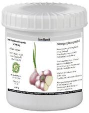 Knoblauch Extrakt 300 veg. Kapseln  (allium sativum) á 500 mg - 100% vegan