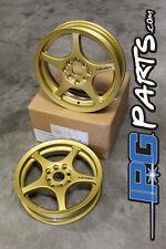 Gold Lenso XPD Drag Race Wheels Rims 15x3.5 4x100 Civic Integra CRX Skinnies
