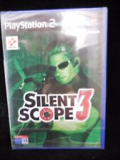 Silent Scope 3 para playstation 2 nuevo y precintado.