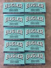 Bugler Rolling Papers 10 Packs with 115 papers in each pack Roll Your Own
