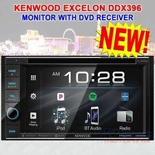 "New listing New Kenwood Excelon Ddx396 2-Din 6.2"" Touchscreen Dvd Receiver Usb / Bt / Fm New"