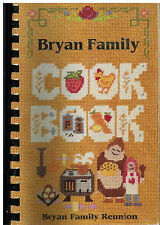 *GARLAND TX 1994 DAVID & MARY CATHERINE HOLMES BRYAN FAMILY COOK BOOK *REUNION
