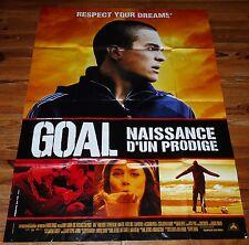 AFFICHE CINEMA GOAL NAISSANCE D'UN PRODIGE 2005 120 X 160 DANNY CANNON BECKER
