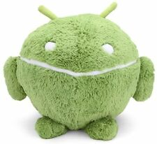 BIG SQUISHABLE ANDROID GREEN DESIGNER PLUSH TOY