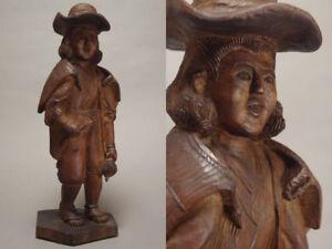 Japanese Old Namban Nanban Statue / W 13.7× H 35[cm] , 1037g