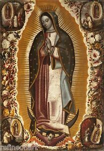 Manuel de Arellano, Virgin of Guadalupe Giclee Canvas Print