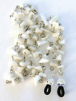 Mother of Pearl MOP Glass Bead Chips Link Eyeglass Chain Holder