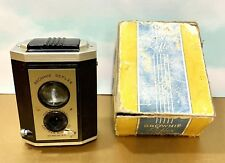VINTAGE BROWNIE REFLEX CAMERA SYNCHRO MODEL W/ ORIGINAL BOX  EASTMAN KODAK  #173