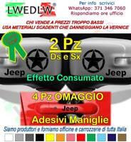 2 Pz specchietto jeep renegade adesivo rubicon stella consumata 4x4 fuoristrada